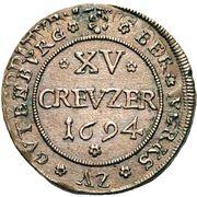 15 Kreuzer - Romanus – obverse