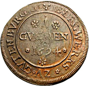 1 Gulden - Romanus – obverse