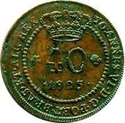 40 Reis - João VI (Lisboa mint) – obverse