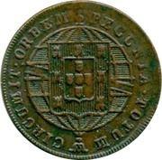 40 Reis - João VI (Lisboa mint) – reverse
