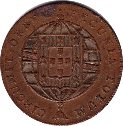 80 Reis Joao Vi Lisboa Mint S 227 O Tom 233 And Pr 237 Ncipe
