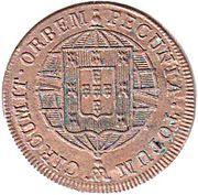 20 Réis - João VI (Lisboa mint) – reverse