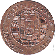 20 Réis - João VI (Bahia mint) – reverse