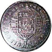 80 Reis - Joao VI (Bahia mint) – reverse