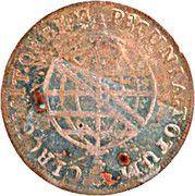 "XL Réis - Pedro V (""Small Crown"" countermark ) – reverse"