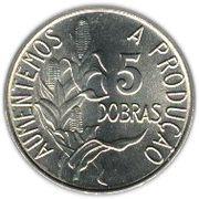 5 Dobras (FAO: Staple Food) -  reverse