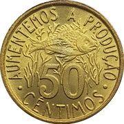 50 Cêntimos (FAO: Fisheries) – reverse