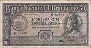 50 Escudos 1958 – obverse