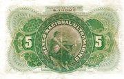 5 000 Reis – reverse