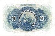 20 Escudos – reverse