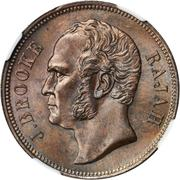 1 Cent - James Brooke Rajah – obverse