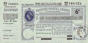 6 Pence - Postal Order - Colony of Sarawak ( 1946 - 63) – obverse