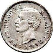 5 Cents - Charles Brooke Rajah – obverse