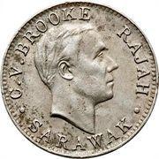 1 Cent - Charles V. Brooke Rajah – obverse