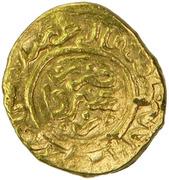 "½ Dinar "" Mithqal"" - 'Ali Mu'ayyad - 1362-1384 AD – reverse"