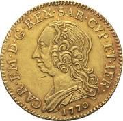 2 ½ Doppiette - Carlo Emanuele III – obverse