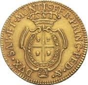 2 ½ Doppiette - Carlo Emanuele III – reverse