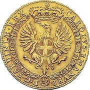 4 Zecchini - Carlo Emanuele III – obverse