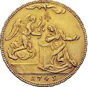4 Zecchini - Carlo Emanuele III – reverse