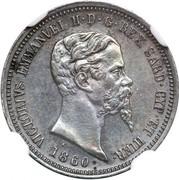 50 Centesimi - Vittorio Emmanuel II – obverse