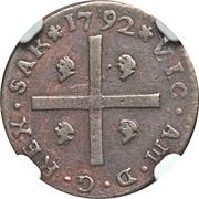 1 Cagliarese - Vittorio Amedeo III – obverse