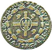 1 Soldo - Vittorio Amedeo III – obverse