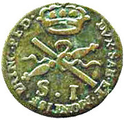 1 Soldo - Vittorio Amedeo III – reverse