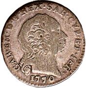 1 Reale - Carlo Emanuele III – obverse