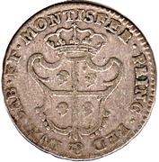 1 Reale - Carlo Emanuele III – reverse