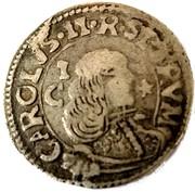 1 Reale - Carlo II (2nd type) – obverse