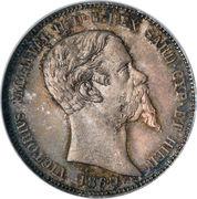 1 Lira - Vittorio Emanuele II – obverse
