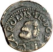 1 Cagliarese - Carlo II – obverse