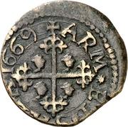 Cagliarese - Carlo II – reverse
