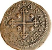 3 Cagliarese - Carlo II – reverse