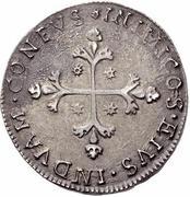 10 Reali - Carlo II – reverse