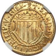 1 Scudo d'Oro - Filippo V – obverse