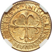 1 Scudo d'Oro - Filippo V – reverse
