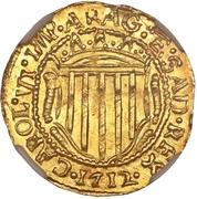 1 Scudo d'Oro - Carlo VI – obverse