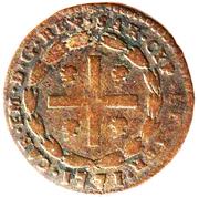 1 Soldo - Carlo Emanuele III – obverse