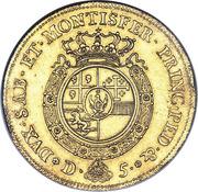 5 Doppie - Carlo Emanuele III – reverse