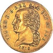 20 Lire - Vittorio Emanuele I – obverse