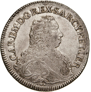 1 Scudo - Carlo Emanuele III – obverse