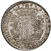 1 Scudo - Carlo Emanuele III – reverse