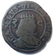 3 Cagliaresi - Carlo VI – obverse
