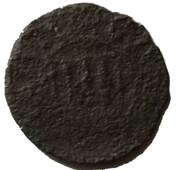 ½ Minuto - Carlo V (Alghero mint) – obverse