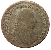 2.6 Soldi - Carlo Emanuele III – obverse