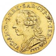 5 Doppiette - Vittorio Amedeo III – obverse