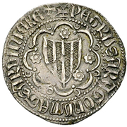 Reale - Pietro IV d'Aragona – obverse