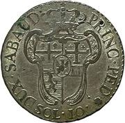 10 Soldi - Victorio Amedeo III – reverse