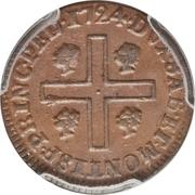 1 Cagliarese - Vittorio Amedeo II – reverse